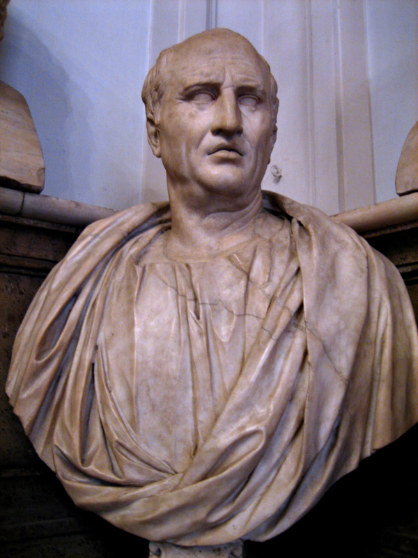 Cicero bust