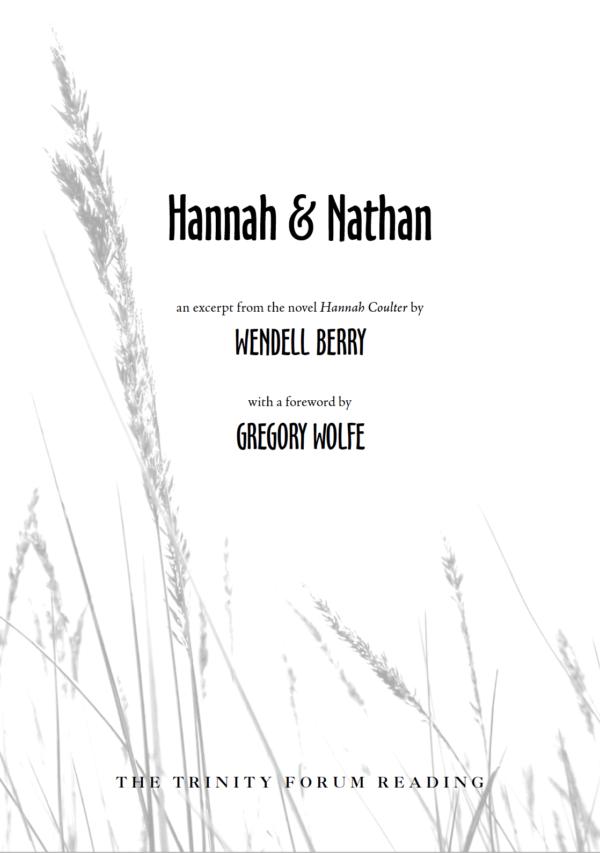 Hannah & Nathan Cover