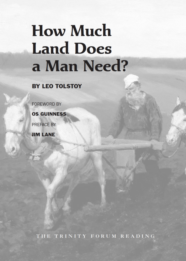 How Much Land? Tolstoy Cover