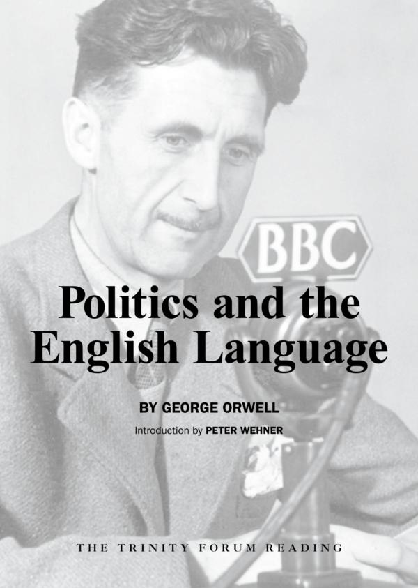 Politics & the English Language Cover