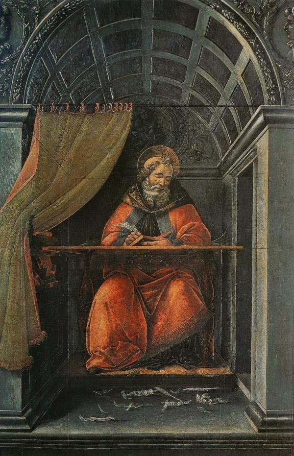 Sandro_Botticelli_-_St_Augustin_dans_son_cabinet_de_travail