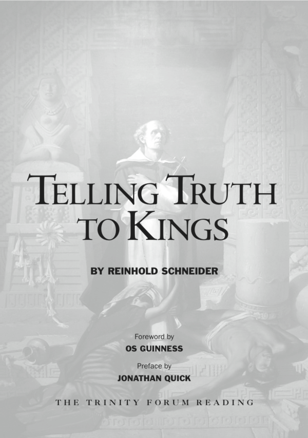 Telling Truth to Kings Cover