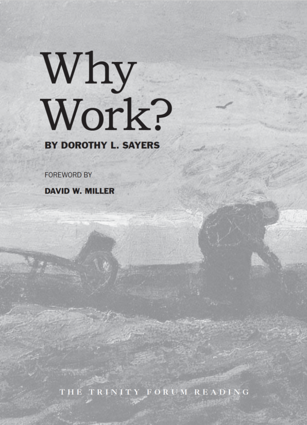 Why Work Sayers Cover