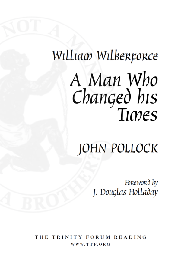 William Wilberforce Cover